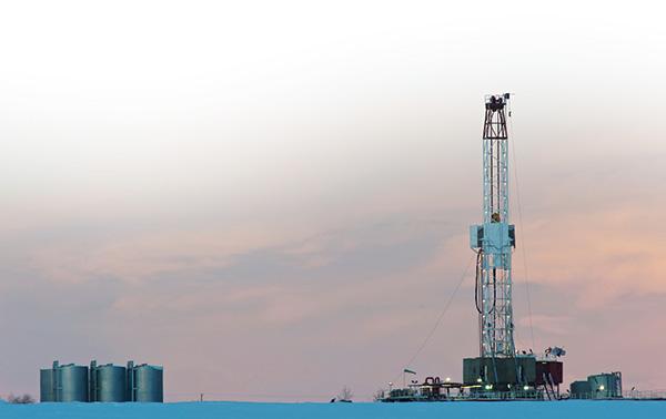 Fracking Drill Site