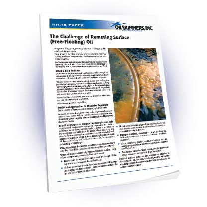 Whitepaper: The Challenges of Removing Surface Oil